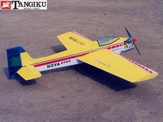 ! 【丹菊モデルクラフト/テトラ】 00105 ノバ・アクロ50 NA-50 [RC飛行機 バルサ製組立キット] (未組立) ≪ラジコン≫
