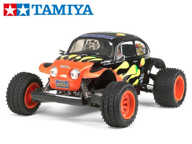 !【タミヤ】 58502 ブリッツァービートル(2011)組立キット+チャンプオリジナル:フルボールベアリング