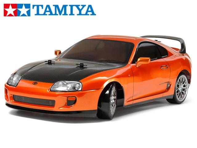 !【TAMIYA/タミヤ】 58613 1/10 電動RC トヨタ スープラ(TT-02Dシャーシ)ドリフトスペック 組立キット (未組立) ≪ラジコン≫