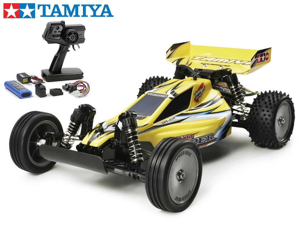 !【TAMIYA/タミヤ】 58374 サンドバイパー 組立キット+45053 ファインスペック電動RCドライブセット (未組立) ≪ラジコン≫