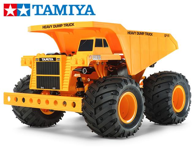 !【TAMIYA/タミヤ】 58622 4WDオフロードカー ヘビーダンプ (GF-01シャーシ) 組立キット (未組立) ≪ラジコン≫