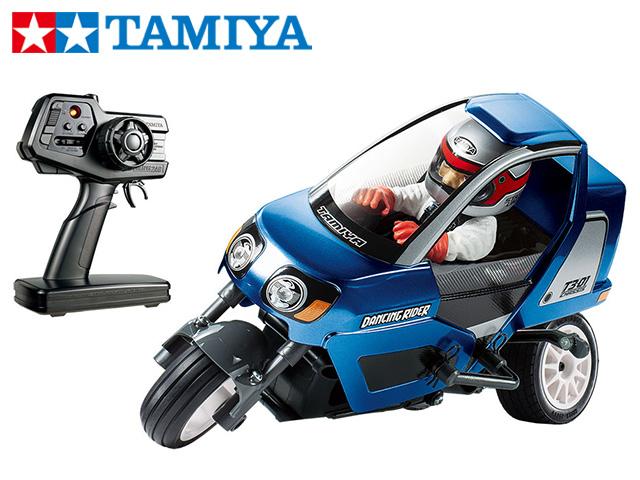 !【TAMIYA/タミヤ】 47384 トリプルホイール ダンシングライダー (完成モデル)(T3-01シャーシ)メタリックブルーボディ仕様 ≪ラジコン≫