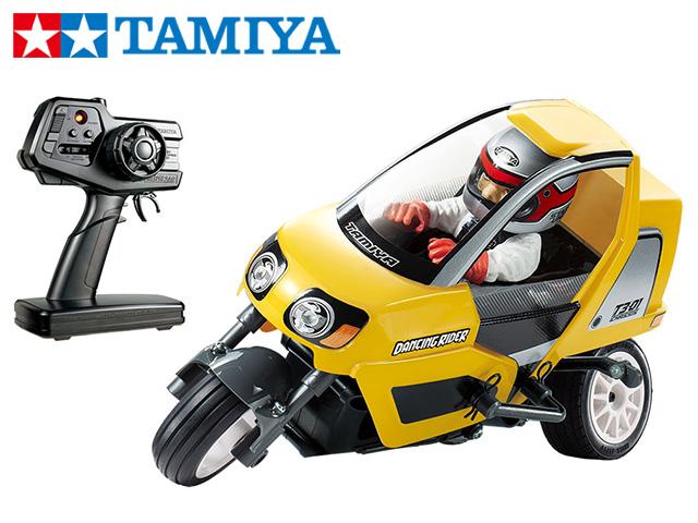 !【TAMIYA/タミヤ】 47385 トリプルホイール ダンシングライダー (完成モデル)(T3-01シャーシ)イエローボディ仕様 ≪ラジコン≫