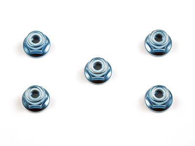 タミヤ RCオプションパーツ 本日限定 捧呈 OP 53159 TAMIYA アルミフランジロックナット OP159 ブルー 4mm