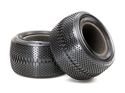 タミヤ RCオプションパーツ OP 54188 TAMIYA OP1188 格安 価格でご提供いたします 35 人気上昇中 デュアルブロックタイヤ 後輪 C 62