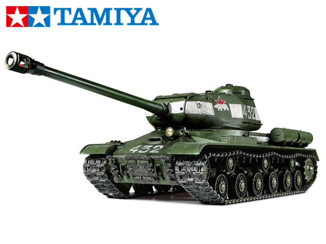 !【TAMIYA/タミヤ】 56034 1/16 電動 RCタンク ソビエト重戦車 JS-2 1944年型 ChKZ フルオペレーションセット(未組立) ≪ラジコン≫