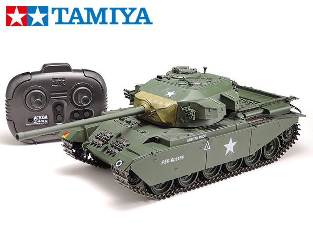 !【TAMIYA/タミヤ】 56604 1/25 電動 RCタンク イギリス戦車 センチュリオンMk.III (専用プロポ付き)(未組立) ≪ラジコン≫