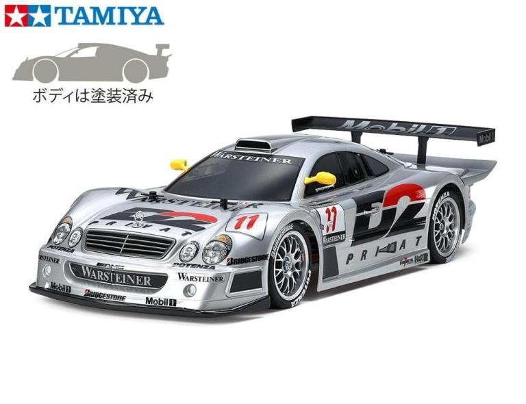 !【TAMIYA/タミヤ】 47437 1997 メルセデス・ベンツ CLK-GTR (TT-01シャーシ TYPE-E) 組立キット (未組立) ≪ラジコン≫