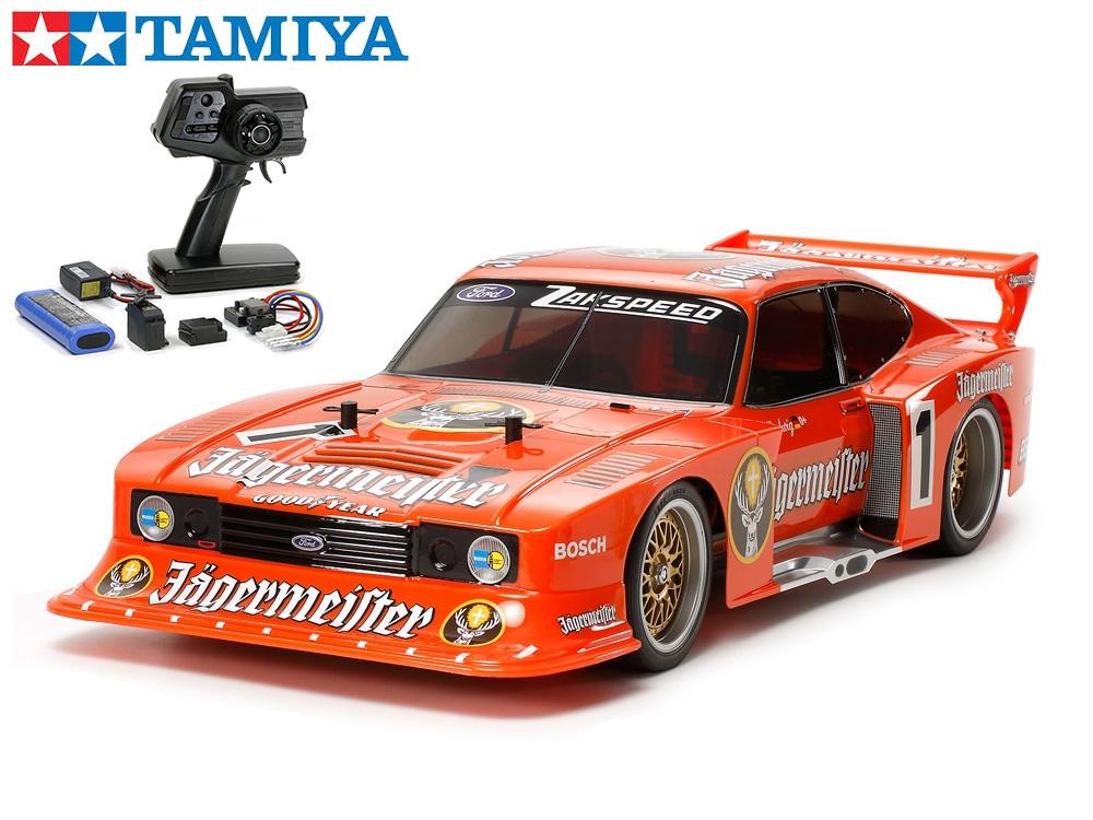 !【TAMIYA/タミヤ】 58590 1/10 電動RC ザクスピ-ド イェーガーマイスター カプリ Gr.5 (TT-02シャーシ) 組立キット+45053 ファインスペック電動RCドライブセット(未組立) ≪ラジコン≫