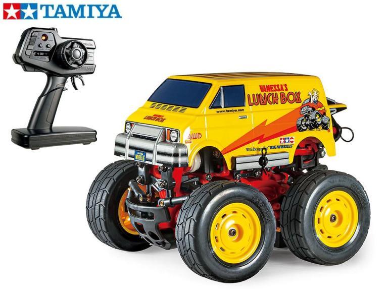 !【TAMIYA/タミヤ】 57410 コミカルウイリーシリーズ ランチボックス ミニ(SW-01シャーシ)(完成モデル)≪ラジコン≫