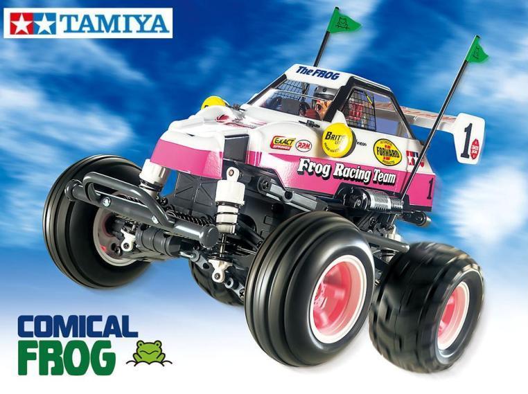 !【TAMIYA/タミヤ】 58673 1/10 電動RC コミカル マイティフロッグ(WR-02CBシャーシ) 組立キット (未組立) ≪ラジコン≫