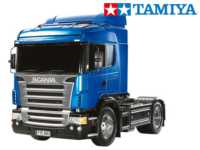 !【TAMIYA/タミヤ】 56317 1/14 電動RC ビッグトラック スカニア R470 ハイライン フルオペレーションセット(未組立) ≪ラジコン≫