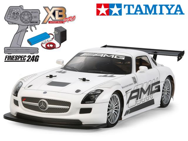 !【TAMIYA/タミヤ】 57859 1/10 電動RC 完成セット XB メルセデス・ベンツ SLS AMG GT3 (TT-02シャーシ) ≪ラジコン≫