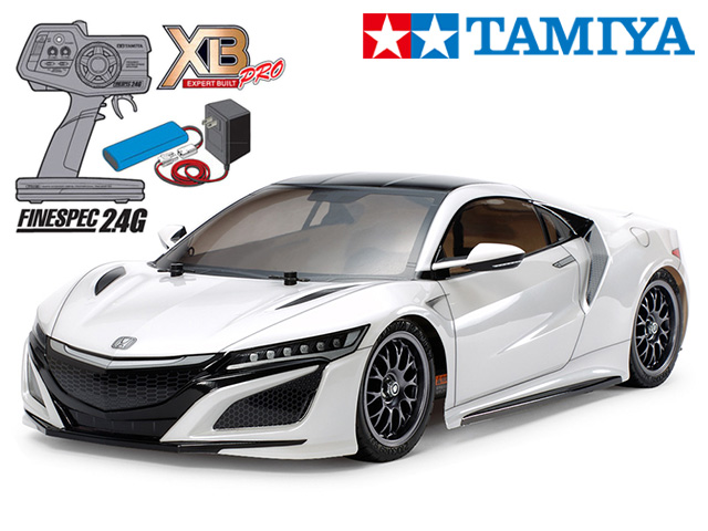 !【TAMIYA/タミヤ】 57899 1/10 電動RC 完成セット XB NSX(TT-02シャーシ) ≪ラジコン≫