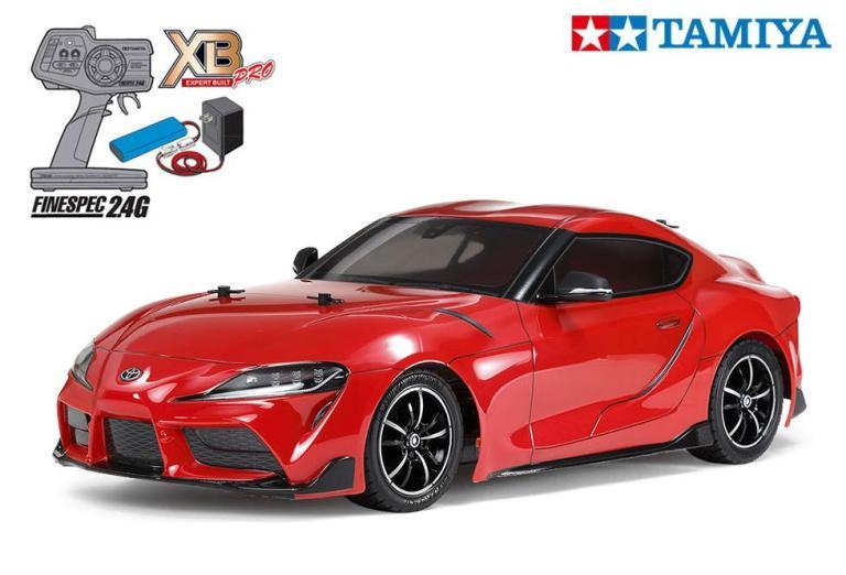1 10 タミヤ 組立完成済 XBシリーズ 4WDオンロードカー TAMIYA 57916 当店は最高な サービスを提供します 電動RC 完成済みフルセット トヨタ レッド GR 完成セット XB TT-02シャーシ スープラ 即納送料無料! ≪ラジコン≫