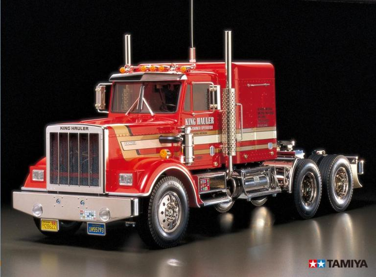 !【TAMIYA/タミヤ】 56301 1/14 電動RC ビッグトラック トレーラーヘッド キングハウラー 組立キット ≪ラジコン≫