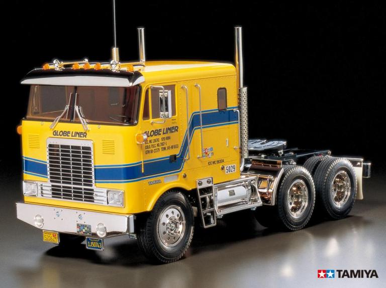 1 14 タミヤ トレーラートラックシリーズ 組立キット 海外並行輸入正規品 TAMIYA ≪ラジコン≫ グローブライナー ビッグトラック トレーラーヘッド 56304 電動RC 新作製品 世界最高品質人気
