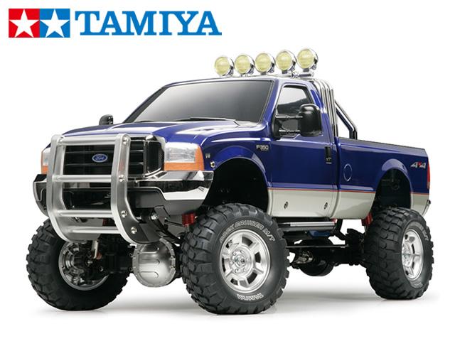 !【TAMIYA/タミヤ】 58372 フォードF-350ハイリフト 組立キット (未組立) ≪ラジコン≫