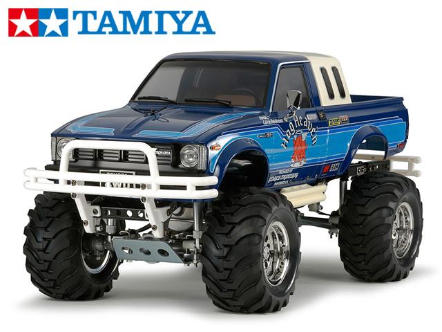 !【タミヤ】 58519 トヨタ ハイラックス4WD ハイリフト(RN36)組立キット