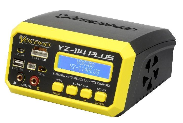 最新コレックション YZ-114PLUS【YOKOMO/ヨコモ】 PLUS YZ-114【YOKOMO/ヨコモ】 PLUS AC YZ-114/DC 急速充放電器, web store BINGOYA --:2846d858 --- clftranspo.dominiotemporario.com