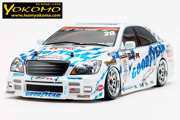 !【YOKOMO/ヨコモ】 DP-ZCRA ドリフトパッケージ GOODYEAR Racing ZERO CROWN ・サンワ:MX-6 コンピュータプロポ・タミヤ:スーパーストックモーターTZ付フルセット(未組立)