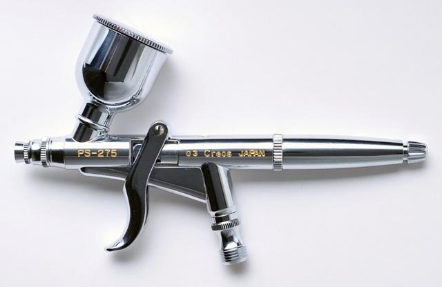 【基本送料無料】クレオス/PS275/プロコンBOY WAトリガータイプ ダブルアクション 0.3mmノズル7ccカップ
