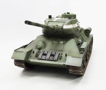 【基本送料無料】童友社(DOYUSHA)/T3485-24/ 1/16 ソビエト中戦車 T34/85 2.4GHzプロポ付 赤外線バトルシステム搭載RC【smtb-k】【w3】