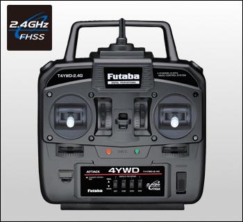 【大注目】 【基本送料無料】フタバ(Futaba)/F-029080/ATTACK 2.4GHz 4YWD 4YWD 4チャンネル 2.4GHz 4チャンネル スティックプロポ(MC331CR+S3003×2), WAWAJAPAN:ceb39258 --- canoncity.azurewebsites.net