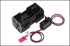 ラジコン 毎日続々入荷 夢空間取り扱い商品 ネコポス対応 フタバ SSW-BSSA 300233 人気ブレゼント スイッチ付電池ホルダー