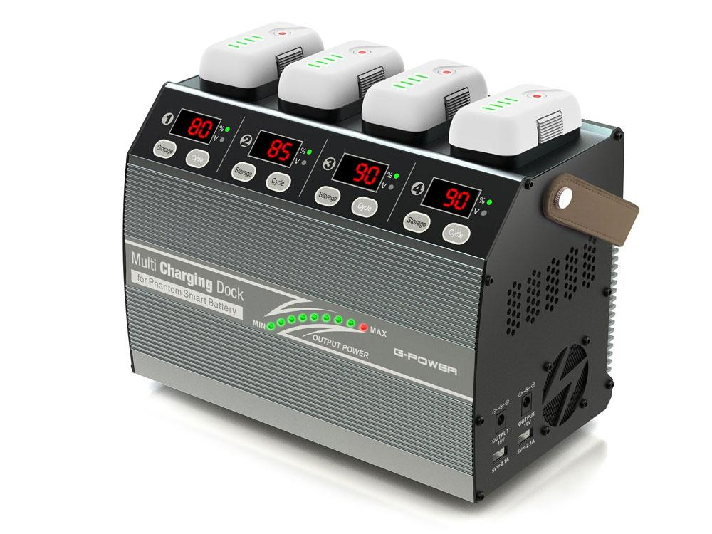 (数量限定超特価)【基本送料無料】G-FORCE(ジーフォース)/G0241/Multi Charging Dock(マルチチャージングドック)AC充電器【smtb-k】【w3】