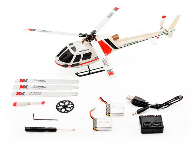 【基本送料無料】【ラジコン・ドローン】(台数限定特価)ハイテック(HiTEC)/K123-B/6ch ブラシレスモーター 3D6Gシステムヘリコプター AS350 K123(エキュレイユ350)プロポレスパッケージ(送信機別売)【smtb-k】【w3】