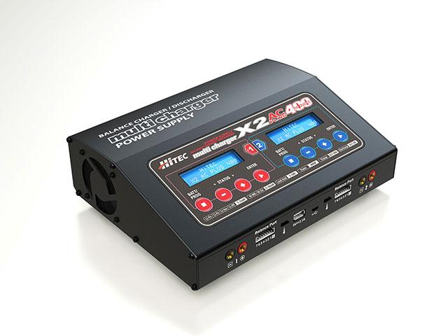 【基本送料無料】ハイテック(HiTEC)/44267/マルチチャージャー X2 AC PLUS 400 オールマイティ多機能 充・放電器