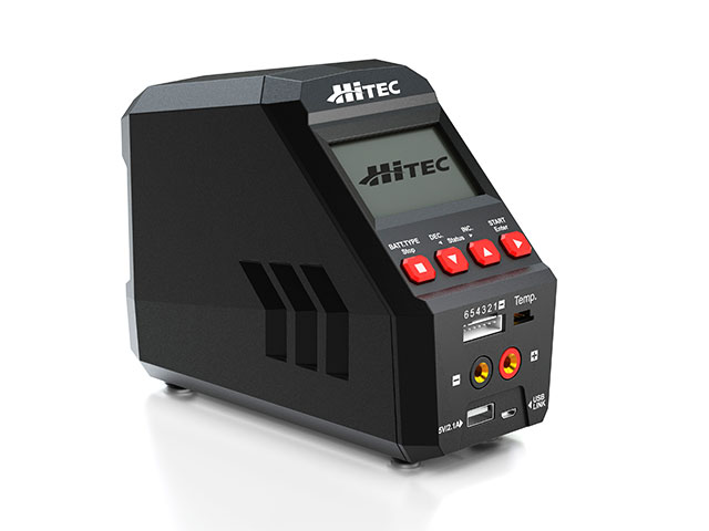 【基本送料無料】(数量限定特価)ハイテック(HiTEC)/44269/マルチチャージャー X1 BLACK オールマイティ多機能充・放電器