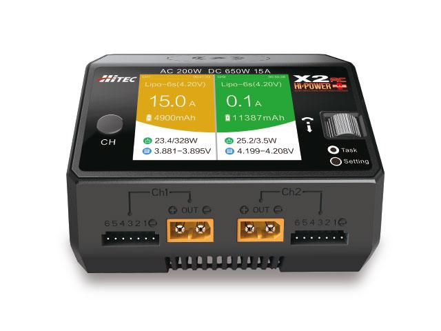 (数量限定特価)【基本送料無料】ハイテック(HiTEC)/44284/X2 ハイパワー ACプラス AC/DC充電器