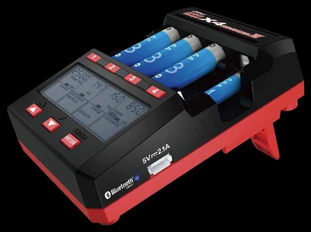 【基本送料無料 Advanced】ハイテック(HiTEC)/44288/AA X4/AAA charger X4 3(アドバンス Advanced 3(アドバンス スリー)単3/単4充電器, nanouniverse:afc95f75 --- officewill.xsrv.jp