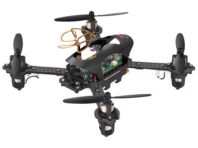 【基本送料無料】ハイテック(HiTEC)/X130-B/X130-T 5.8G FPV 3D6Gモード レーシングドローン プロポレスパッケージ