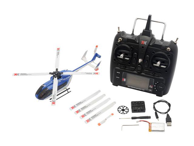 【基本送料無料】【ラジコン・ドローン】ハイテック(HiTEC)/XK124-B/K124 6chブラシレスモーター3D6Gシステムヘリコプター プロポレスパッケージ※送信機なし
