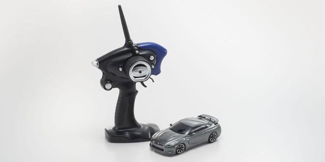 【基本送料無料】京商(KYOSHO)/32141GR/MA-020スポーツ レディセット 日産 GT-R ダークメタルグレー【ドリフトタイヤ標準装着済み】