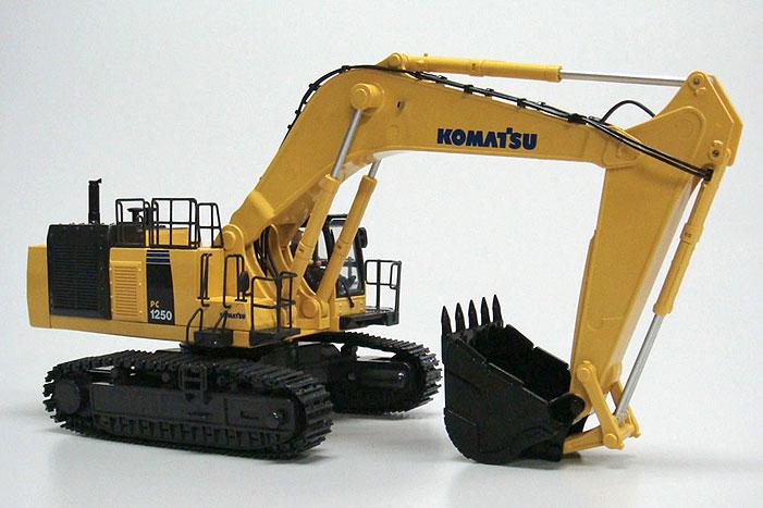 1/50 IRC 建設機械シリーズ 油圧ショベル KOMATSU PC1250-8 ※バンド指定可能 ラジコン プレゼント 重機