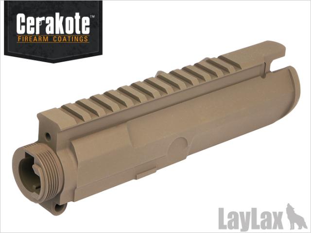【基本送料無料】LayLax(ライラクス)/137708/次世代電動ガン M4シリーズ用[MG]アッパーフレーム<MUR-1/NV> セラコートVer<Magpul DE> 【smtb-k】【w-3】