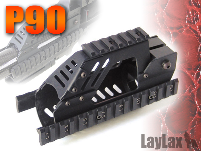 【基本送料無料】LayLax(ライラクス)/581711/NITRO.VO レイルハンドガード P90【smtb-k】【w-3】