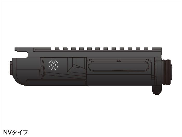 【基本送料無料】LayLax(ライラクス)/LA140562/次世代電動ガンM4シリーズ用MGアッパーフレーム(NVタイプ)【smtb-k】【w3】