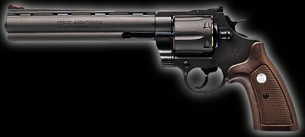 【基本送料無料】マルシン/NO-041875/コルト・アナコンダ・6mmBB・エックスカートリッジシリーズ・8インチ ブラック ABS(対象年齢18才以上)【smtb-k】【w3】