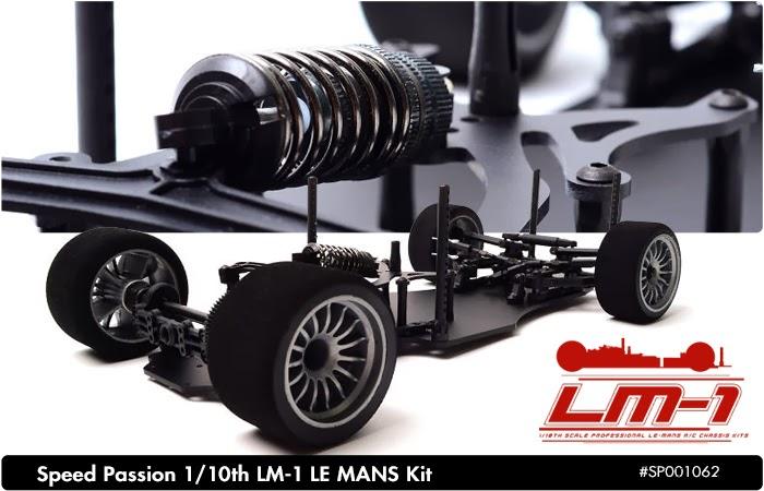【基本送料無料】【ラジコン】OPTION No.1(オプションNo.1)/SP001062/SpeedPassion(スピードパッション) 1/10 LM-1 LE MANS キット【smtb-k】【w3】