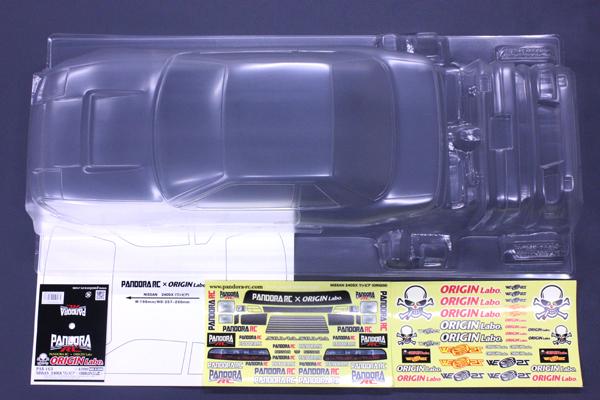 パンドラRC(Pandora RC)/PAB-2163/NISSAN ワンビア (ORIGIN公認) クリアボディセット(未塗装)