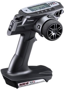 【基本送料無料】サンワ(SANWA)/101A27622A/MX-6 (F2500)EPスタートセット 2.4Gプロポ/初級者/初中級者