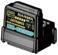 【基本送料無料】サンワ(SANWA)/107A41311A/RX-481WP 2.4GHz FHSS4/FHSS3 防水受信機【smtb-k】【w3】