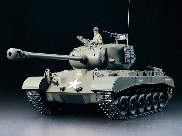 【基本送料無料】タミヤ(TAMIYA)/56015/1/16RC アメリカ戦車 M26 パーシング フルオペレーションセット(未組立)