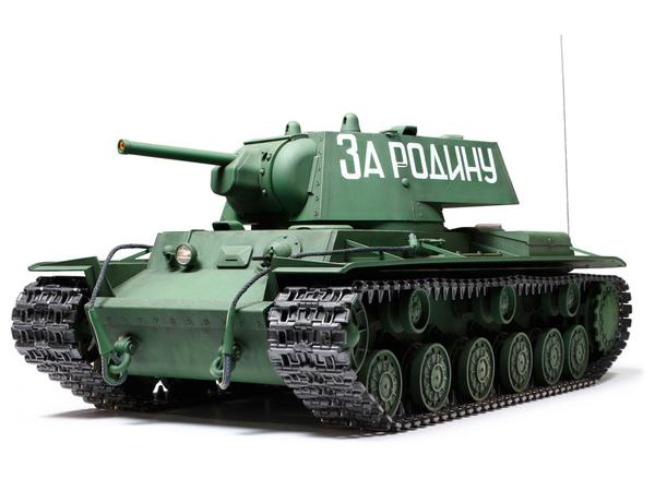 【基本送料無料】タミヤ(TAMIYA)/56027/1/16RC ソビエト KV-1重戦車 フルオペレーションセット(未組立)