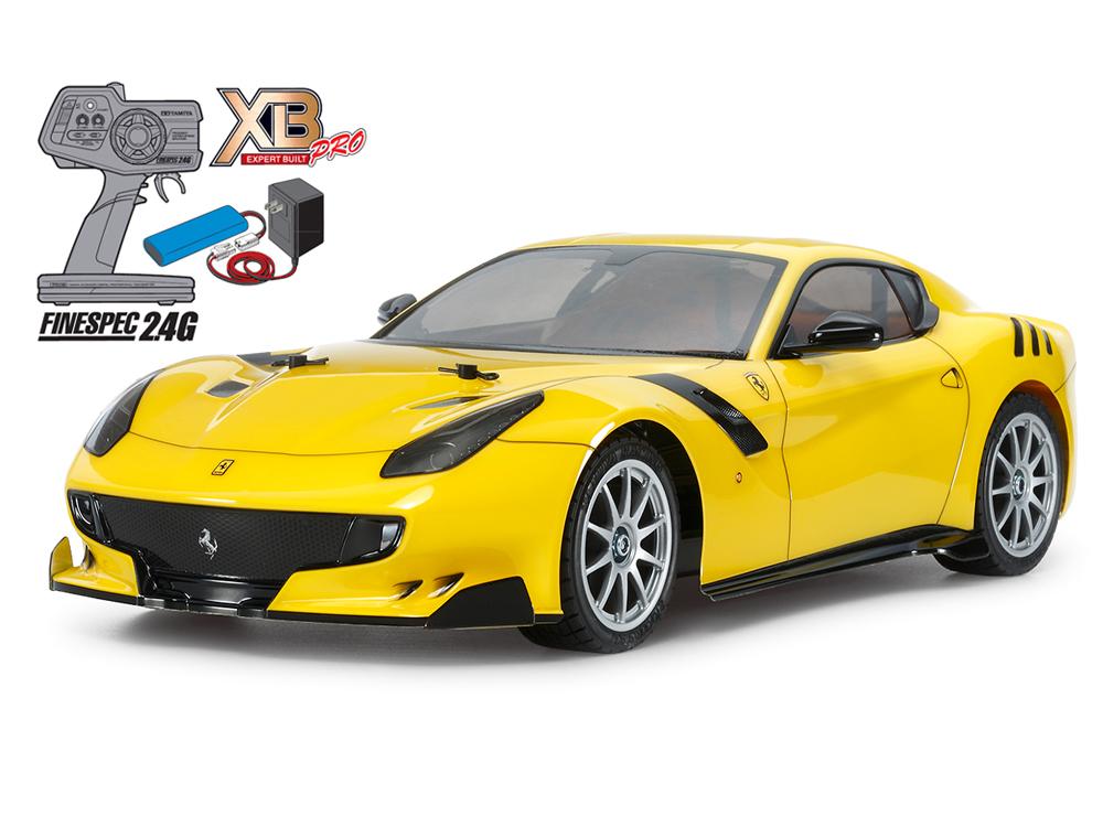 【基本送料無料】タミヤ(TAMIYA)/57902-M/XB フェラーリ F12tdf(TT-02シャーシ)(完成品)コンボミドルセット